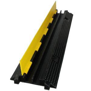 Kabelbrücke 2-Kanal Bodenkabelkanal überfahrbar Kabelabdeckung