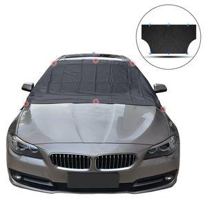 Frontscheibenabdeckung Auto Scheibenabdeckung Faltbar Sonnenschutz Windschutzscheibenabdeckung Magnetische UV-Schutz Abdeckung für SUVs, LKWs, PKW, KFZ