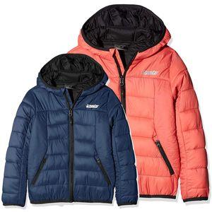 Gregster Kinder Daunenjacke Outdoor- und Winterjacke , Color:orange, Size:134/140