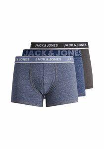 Jack & Jones Denim 3 Pack Detail Dark Grey Melange-light Blue Denim Navy Blazer M