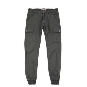 Alpha Industries Herren Hose Spark Pant greyblack 36