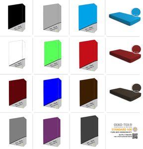 Microfaser Spannbettlaken Spannbetttuch Bettlaken Betttuch mit Rundumgummi, Größe:90 x 200 cm - 100x200 cm, Farbe:Bordeaux
