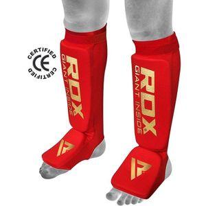 RDX Schienbein- Spannschoner rot - Größe: S