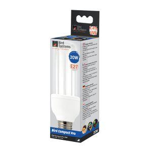 Bird Systems - Bird Lamp Pro, E27 Kompaktlampe - 2.4% UVB, 20W
