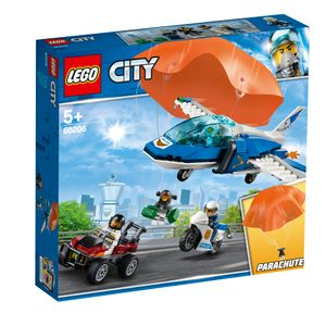 LEGO® City Polizei Flucht mit dem Fallschirm, 60208