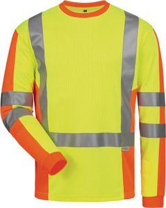 elysee UV-/ Warnschutz-Langarmshirt Drachten Größe M gelb/orange