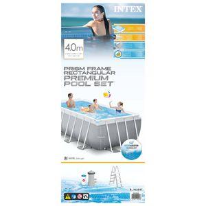 Intex Swimmingpool-Set Prism Frame Rechteckig 400x200x122 cm
