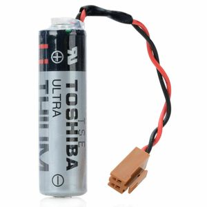 TOSHIBA ER6V / 3.6V 2400mAh SPS-Batterie für Mitsubishi M64 System mit Stecker
