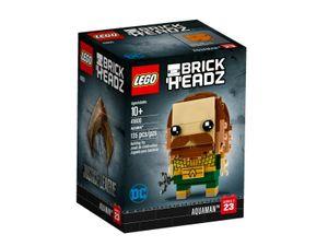 LEGO 41600 Aquaman  LEGO Anzahl Anleitungen: 1, Gewicht: 0.131 KG, Anzahl Teile: 135, Altersberatung: 10+, Thema: LEGO BrickHeadz, Veröffentlicht in: 2018, Zahl: 41600-1, EAN: 5702016072655