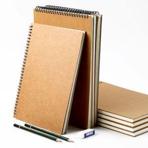 Skizzenbuch A3 / A4 / A5 Hand bemalt einfach dauerhaft diese Abdeckung leicht abwischen skizzieren -(A5 210 148mm,)