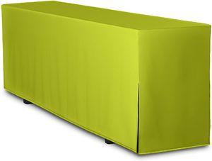 Biertisch-Husse Premium für Bierzeltgarnitur Festzeltgarnitur 220x70 cm in Apfelgrün (nur Tisch)