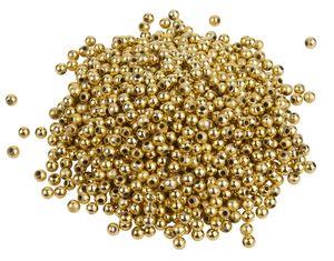 1.000 Wachsperlen, Ø 4mm, VBS Großhandelspackung Gold