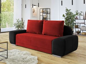 Mirjan24 Schlafsofa Lirko, Sofa mit Bettkasten und Schlaffunktion, Polstersofa Couch vom Hersteller (Manila 18 + Manila 28)