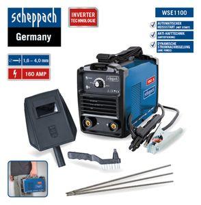 SCHEPPACH WSE1100 Schweißgerät Elektrodenschweißgerät Schweissgerät, 230V *NEU*