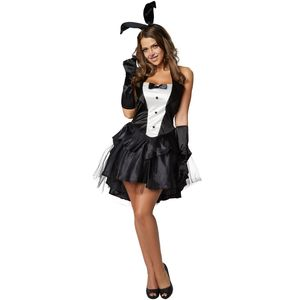 dressforfun Frauenkostüm Sexy Bunny - M
