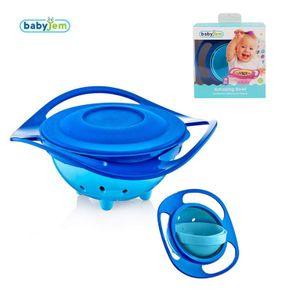 Babyjem Baby Schüssel Bowl 360° Breischale Balu mit Deckel Kinder Teller Schale BPA frei