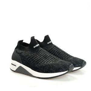 """Diesel Sneaker """"S-Kb Athl Sock"""" -  Y01881 P0338 H3800   Skb S-Kb Athl Sock - Schwarz, Grau-  Größe: 44(EU)"""