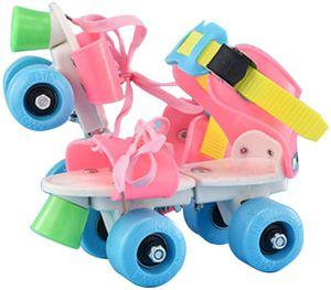Rollschuhe Schuhe 4 Wheel Skating Einstellbare Größe für Kinder Jungen Mädchen CNJ200618172HT