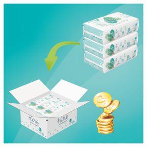Pampers Pure Protection Gr.1 Newborn 2-5 kg MonatsBox, 102 Stück - Größe 1 - 102 Stück