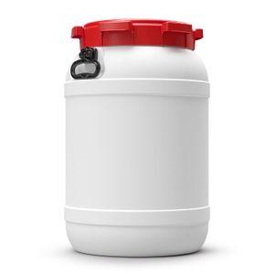 68 L Liter Curtec Weithalsfass Schraubdeckel Drehdeckelfass weiß Kanu Bootsfass (68 CT)