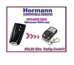 Hörmann RSC2–433/Hormann RSC2–433 Kompatibel Fernbedienungen, Ersatz 433,92 MHz