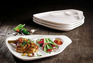 Villeroy & Boch BBQ Passion Steakteller L Set 4 Stück 30x29 cm  2x 10-4189-7515 (1041899065)