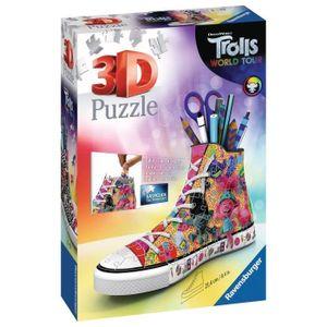 RAVENSBURGER - 3D Puzzle Sneaker 108 Teile Trolle 2