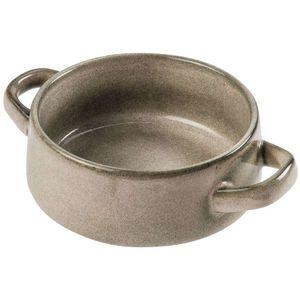 SIAKI COLLECTION Suppenschüssel BOUILLONTASSE Suppenschale aus Keramik 750 ml in BEIGE