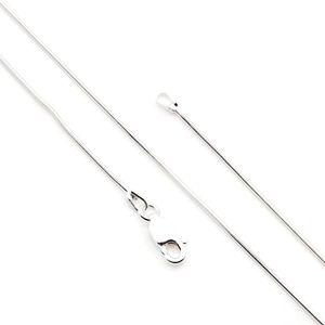 Kette 925er Silber Silberkette Schlangenkette 40 cm (MKE 03-40)