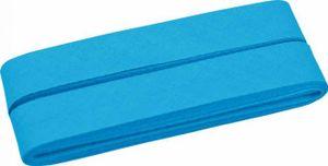 5m Coupon Aqua 298 BW-Schrägband/-Einfassband gefalzt 40/20mm