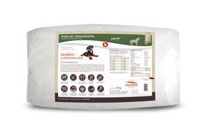 SALiNGO Premium Trockenfutter für Hunde   Hundefutter Pferd mit Süßkartoffel   getreidefrei   83% Fleischanteil   Single Protein   hypoallergen   15 kg