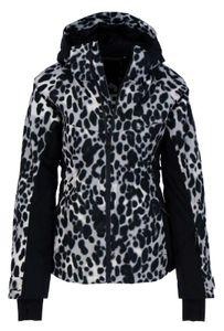CHIEMSEE Damen Ski Jacke Regular Fit AOP Print, Größe:XS, Chiemsee Farben:Grey / Black 7290