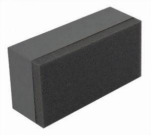 Racoon applikator-Schwamm 80 x 40 mm Mikrofaser schwarz