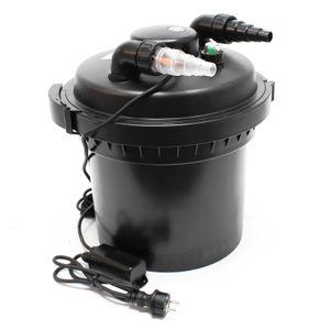 SunSun CPF-280 Druckteichfilter 9000 L/h UVC 11 W Teichklärer Teichfilter Filter