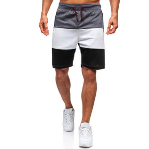 Herren Frühling Sommer Casual Fitness Bodybuilding Tasche Sport Shorts Hosen Größe:M,Farbe:Grau