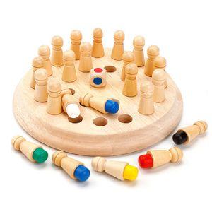 Memory Match Stick Schach, Memory Match Stick Schach, Memory Schach Holz Gedächtnis Schach Gedächtnisschach Schachspiel Lernspielzeug Prädagogische Spielzeug für Kinder Intellektuelle Entwicklung Vorschulbildung Brettspiele