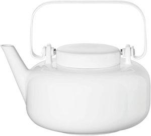 ASA - Teekanne inkl. Edelstahlfilter glossy white