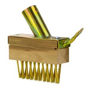 Ersatz Fugenbürste Fugenreiniger Ersatzbürste 5x80 mm mit Metalldorn ohne Stiel