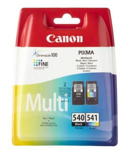 Canon Multipack PG-540 schwarz + CL-541 Farbe