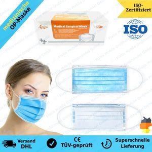 OP Maske Medizinisch Mundschutz Maske Atemschutz Gesichtsmaske TYPIIR BFE98%