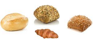 Vestakorn Sonntags Frühstück - Mini-Croissants, Schrippen, Dinkel- & Mehrkornbrötchen