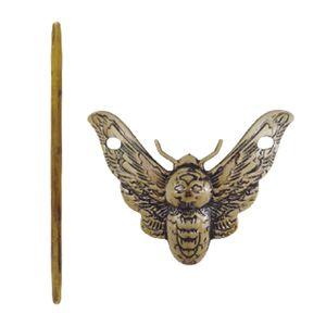 Haarnadeln Haarschmuck Scheibenhaar Rutschfeste Accessoires Mit Haarstiel Motte Farbe Motte