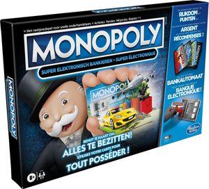 Hasbro Monopoly Super Electronic Banking Belgische Ausgabe