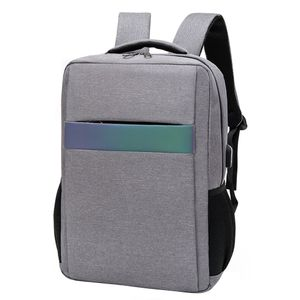 Männer Damen wasserdicht im Freien USB-Rucksack Notebook Travel School Computer-Tasche ZZP90917825C