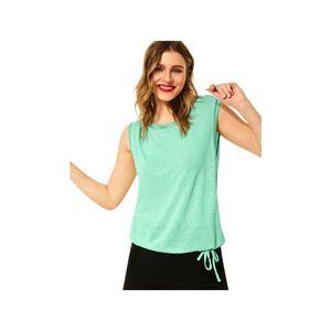 Street One Damen T-Shirt A316277 Menthe Green