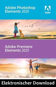 Adobe Photoshop + Premiere Elements 2021 | Vollversion | PC/Mac | Download-Version