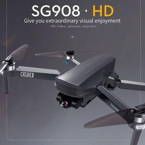 2021 NEU SG908 Drohne 3-Achsen Gimbal 4K Kamera 5G Wifi GPS FPV Profesional HAI210112008