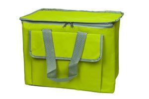 Kühltasche Picknicktasche Isoliertasche Kühlkorb Kühlbox Thermotasche 30L, Farbe:hell Grün