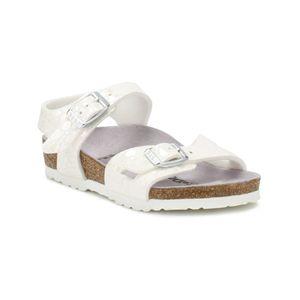 Birkenstock Kids Metallic Stones Weiß Rio Sandals