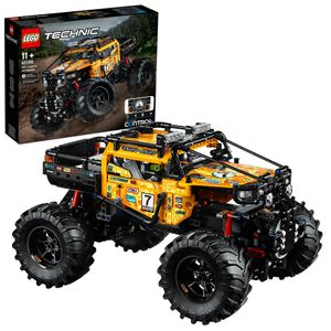 LEGO 42099 Technic Control+ 4x4 Allrad Xtreme-Geländewagen, App-gesteuertes Konstruktionsspielzeug mit Smarthub und interaktiven Motoren für Kinder und Erwachsene